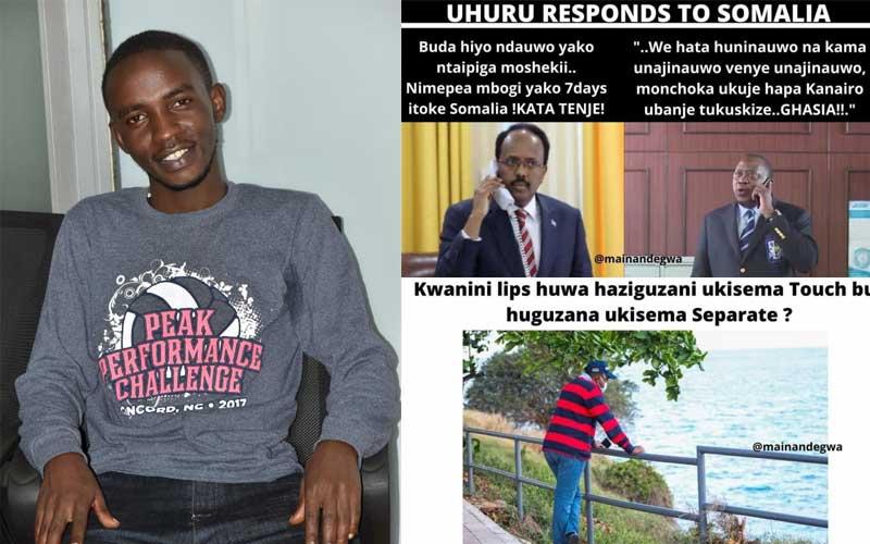 Maina Ndegwa: Student tickling Kenyans with hilarious memes of key figures