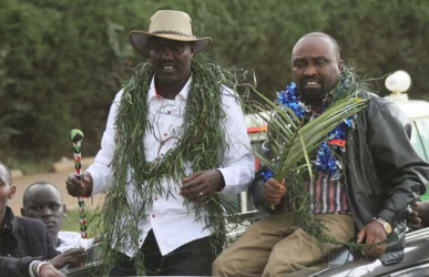 Mandago tibim! This is how NASA helped me win, Jubilee's Jackson Mandago speaks