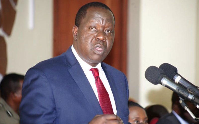 Matiang'i orders freezing of funds, property belonging to these nine individuals