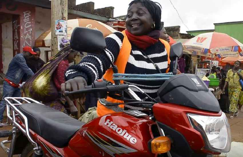 I was ambushed: Female bodaboda rider's struggle to succeed against all odds