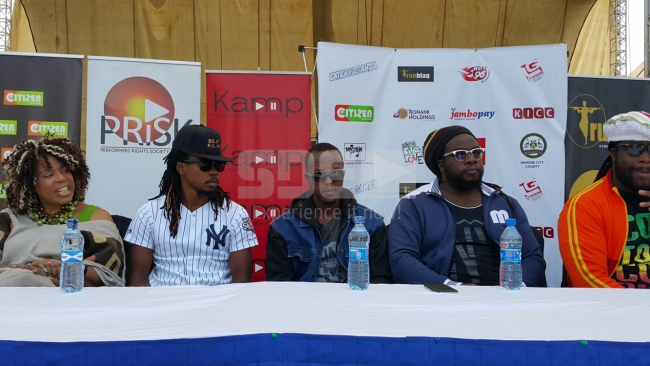 Morgan Heritage press conference