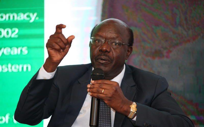 Mukhisa Kituyi responds to controversial viral video
