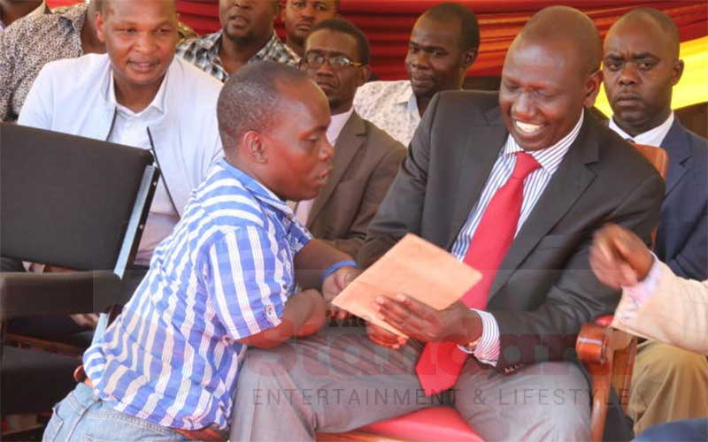 Musician assaulted for backing DP William Ruto