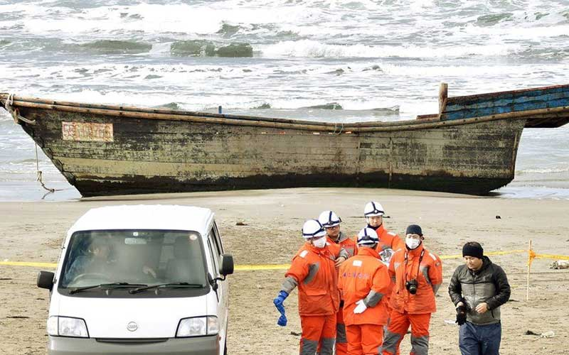Mystery of North Korea ships washing up in Japan full of dead bodies solved