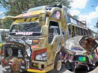 Nairobi's hottest matatu with designer perfume