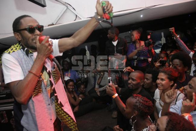 Mos Def Performance at Ebony