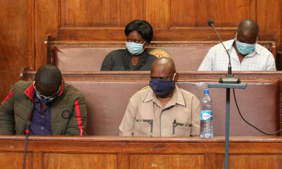OCS, three junior officers in court for stealing liquor worth Sh1.9m