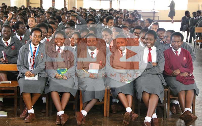 Students of Kenya High School