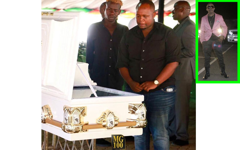 Papa Dennis' burial currently underway in Matunda, Kakamega County