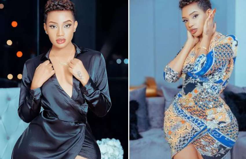 PHOTOS: Socialite Poshy Queen engaged, flaunts ring from Nigerian lover