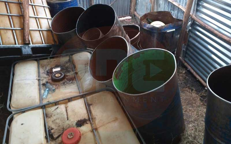 Playing with fire: How Konza residents steal, store petrol in their homes