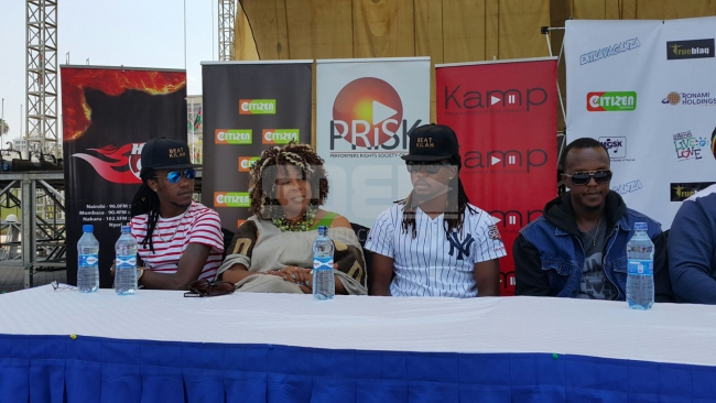 Morgan Heritage in Kenya