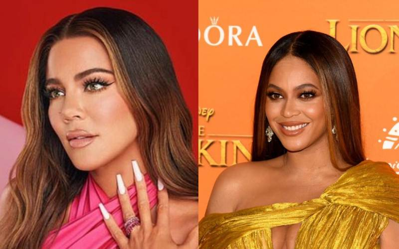 Khloe Kardashian accused of changing looks to mimic Beyonce with 'new face'