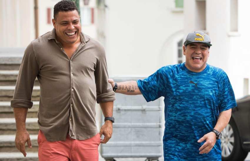 Ronaldo explains why Diego Maradona wore two watches