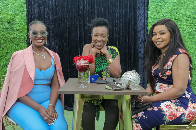 Gire brand launch: Celebrities grace glitz Karen c