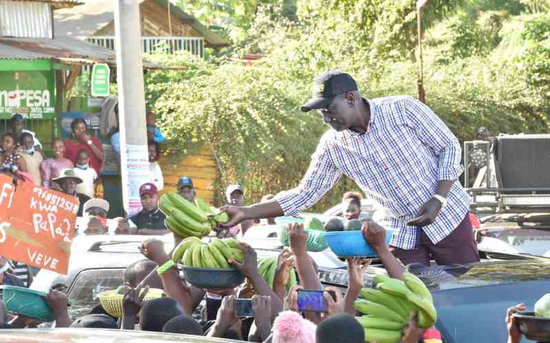 Ruto promises to reduce public engagements due to upsurge in Covid-19 cases