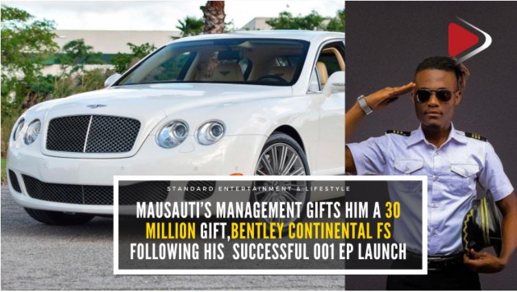Singer Masauti flaunts brand new Bentley