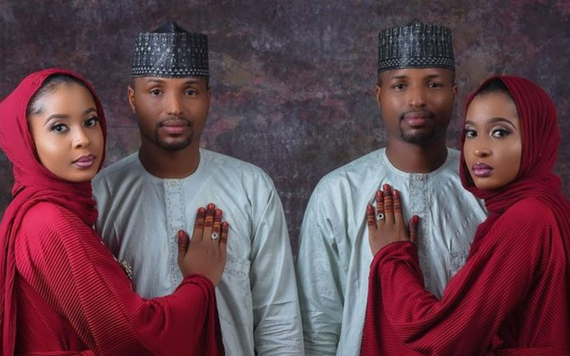 Sets of twins marry each other, fulfil lifelong dream