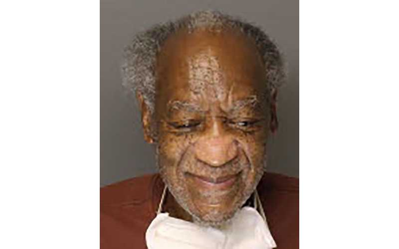 Shamed Bill Cosby looks unkempt in new mug shot