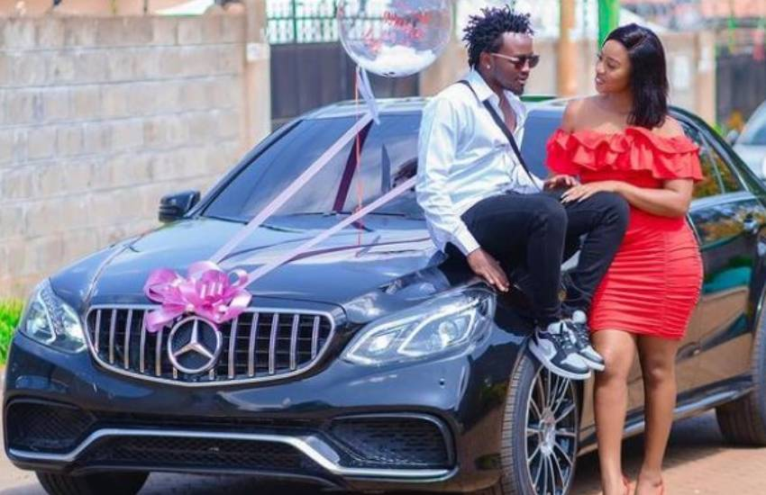 Simply irreplaceable: Bahati showers wife Diana Marua with love