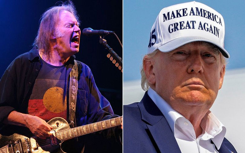 Singer considers legal action against Trump to block music use at campaign rallies