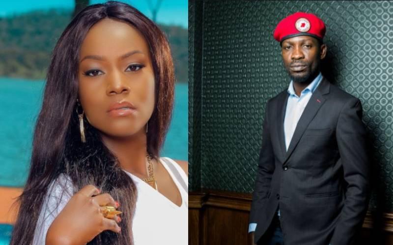 Singer Juliana Kanyomozi praises Bobi Wine for inspiring a generation