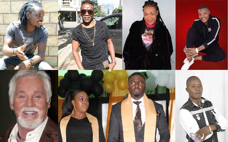 Ten most Googled musicians in Kenya for 2020