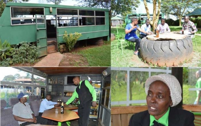 The 'mbus' is here! Hop onto the Meru 'bar bus' for a drink