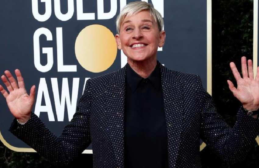 Ellen DeGeneres tweeted about how it 'felt good' to 'make employee cry'