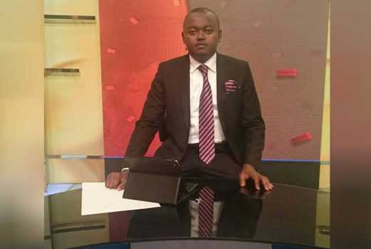 KTN news anchor Ali Manzu wins prestigious award
