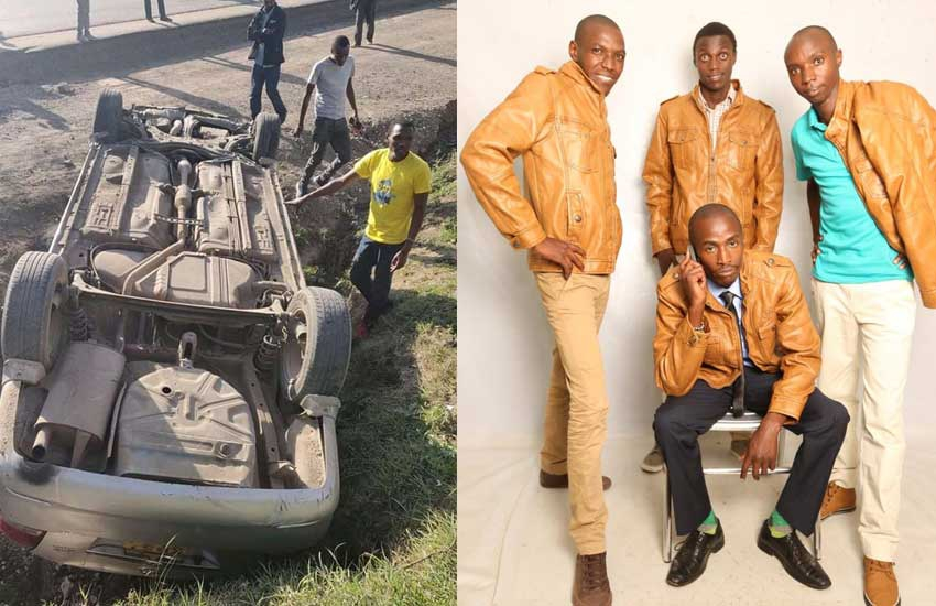 Mtaro ulituokoa: Comedy group Propesa speaks after accident