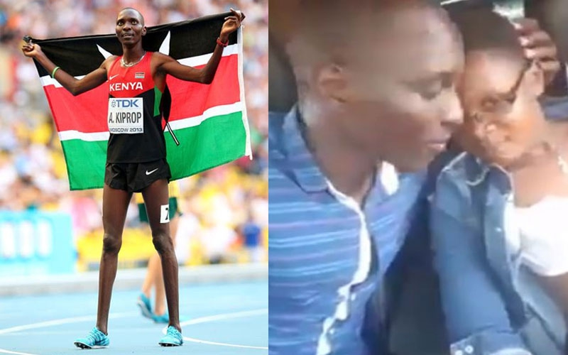 Asbel Kiprop pleads with wife after leaked video with lover