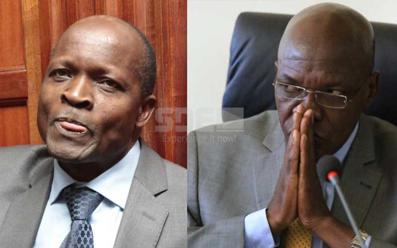 Boni Khalwale under fire for standing with Governor Obado