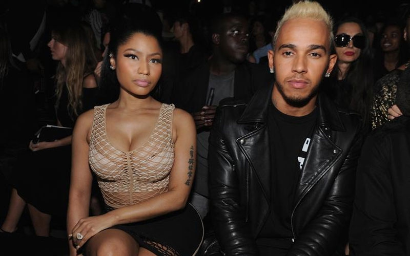 Dating? Nicki Minaj enjoys vacation with Lewis Hamilton