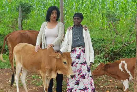 Esther Passaris warms hearts, visits her former nanny in Kisumu