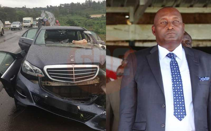 Former Nyeri Governor Gakuru looked disturbed days to his death- Inquest told