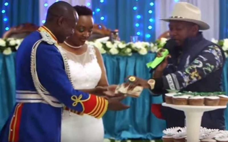 Governor Sonko gifts former bodyguard Sh300,000