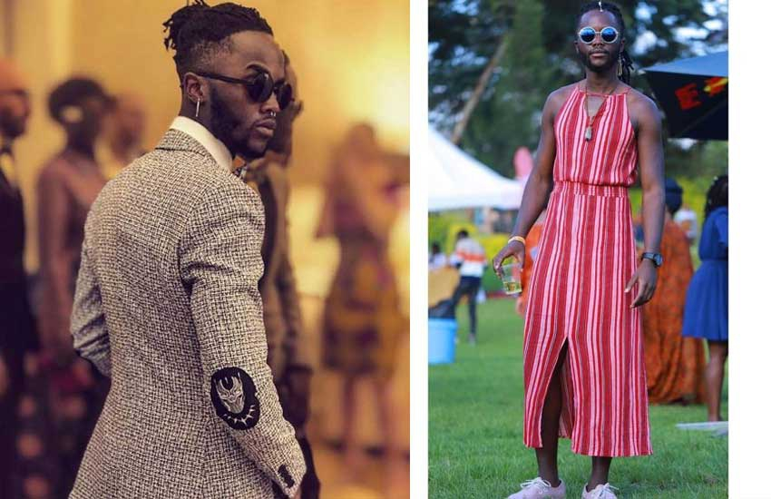 Fashion? Junior Nyong'o steps out in a dress