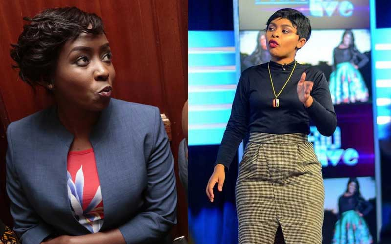 Jacque Maribe was there for me in high school- Size 8 opens up