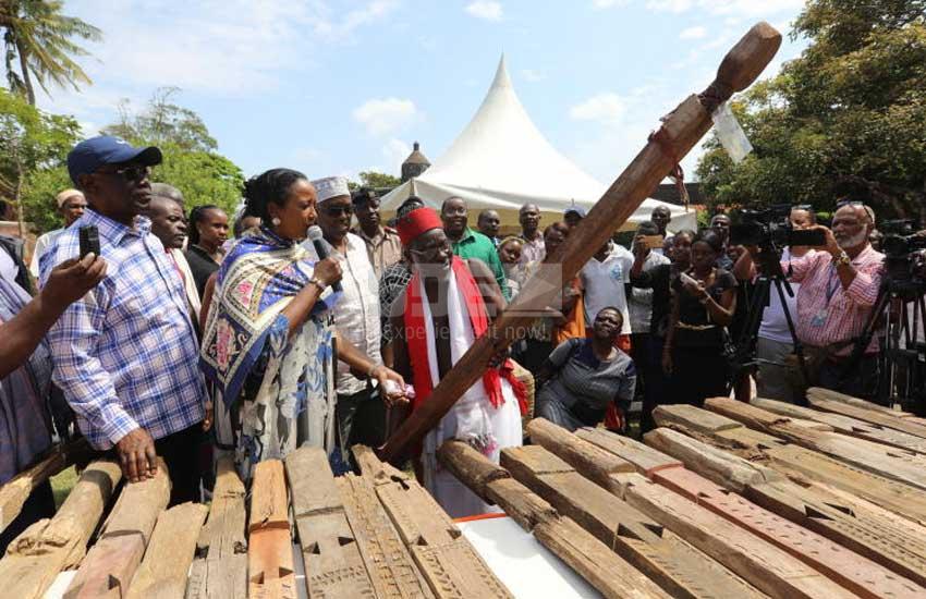 Jubilation as stolen Mijikenda 'spirits' return home