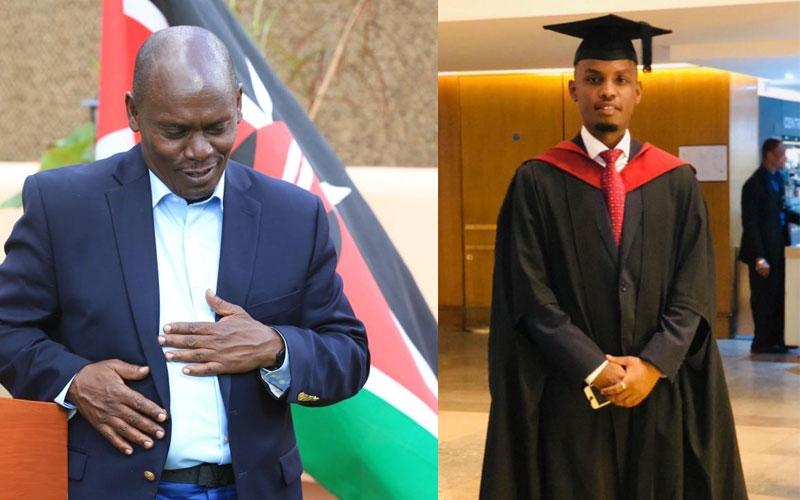 Kenyans react to Alvin Kabogo's graduation