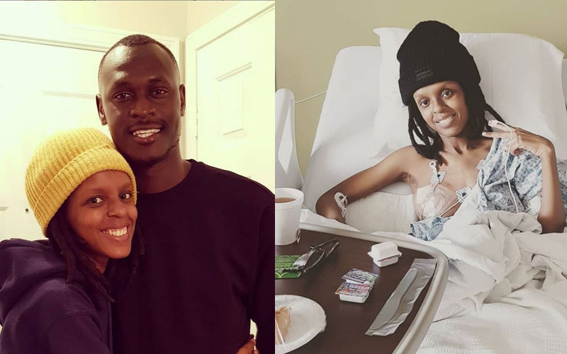 King Kaka, Benachi pay Njambi Koikai surprise visit amid endometriosis battle