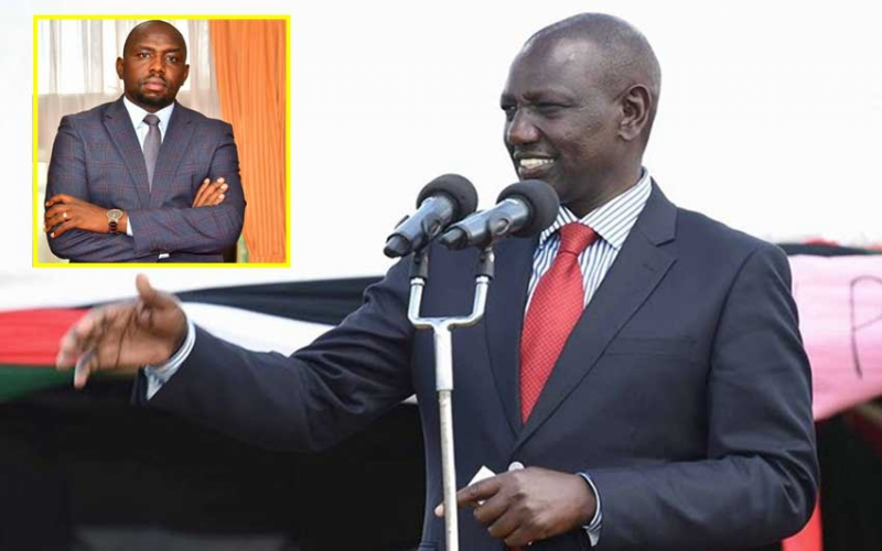 Lipa deni - DP William Ruto's message to Senator Murkomen