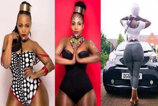 Lorraine Lionheart: I show off my bum to thank God