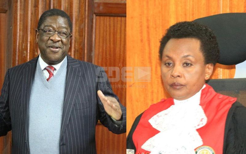Love at first sight: When Amos Wako met Justice Philomena Mwilu