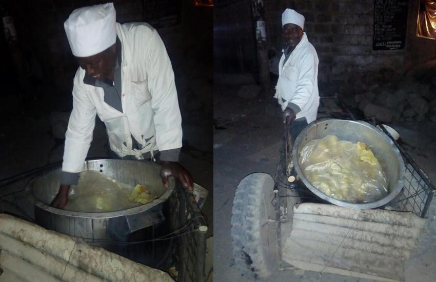 Boiled maize vendor makes makes Sh1, 000 a day