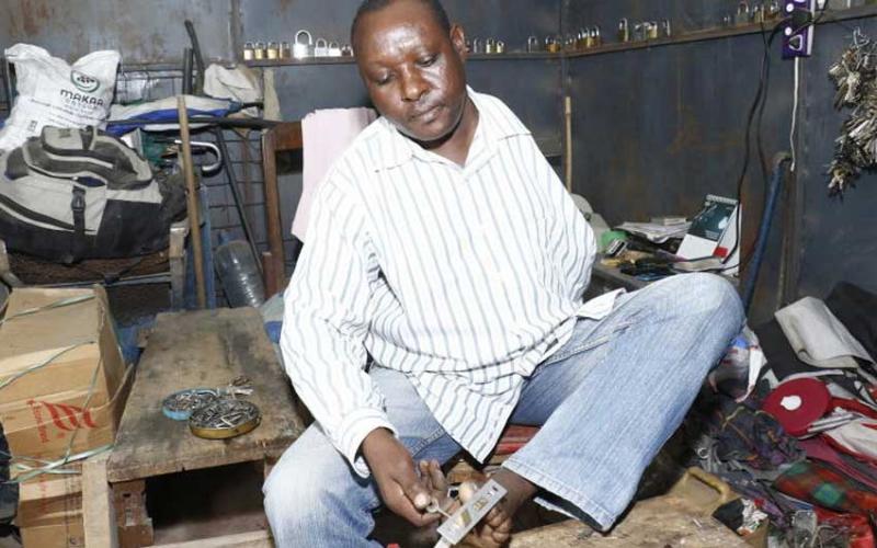 Meet the man who literally holds the keys to Nakuru's Bondeni estate