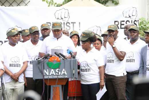 NASA's NRM declared criminal group