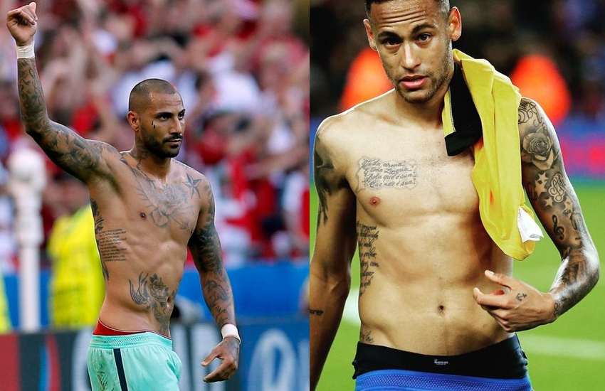 Nine footballers women can't wait to see shirtless in Russia