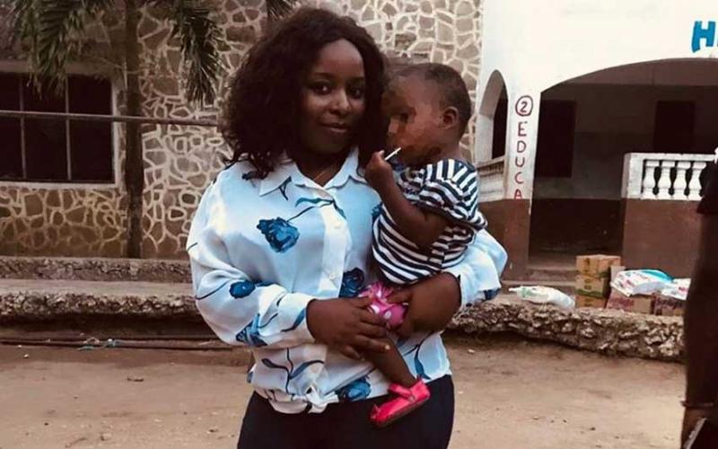 Saumu Mbuvi follows father's footsteps, adopts young girl